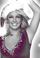 ID2 Christmas Britney. by Aphrodian