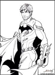 - First Batman - by Aphrodian