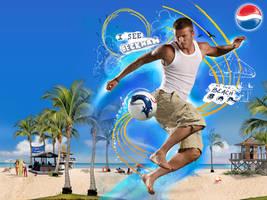 David Beckham Pepsi Wallpaper by Fr1stys