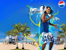 Ronaldinho Pepsi Wallpaper by Fr1stys
