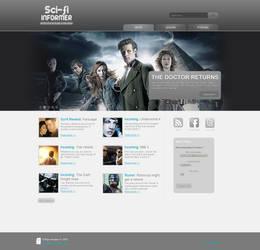 Sci-fi Informer Design by Fr1stys