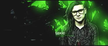 Skrillex Toxic tag by Fr1stys