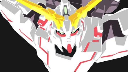 PS training - Gundam Unicorn by conquer001