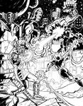 Galactus and the Celestials