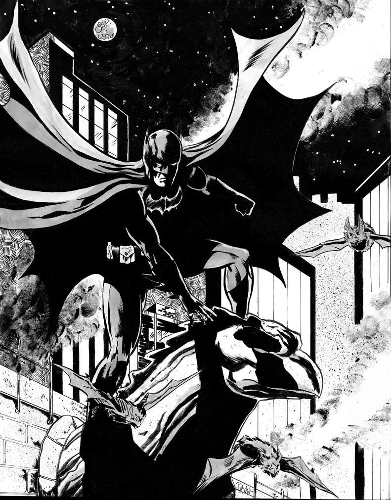 Batman by dannphillips