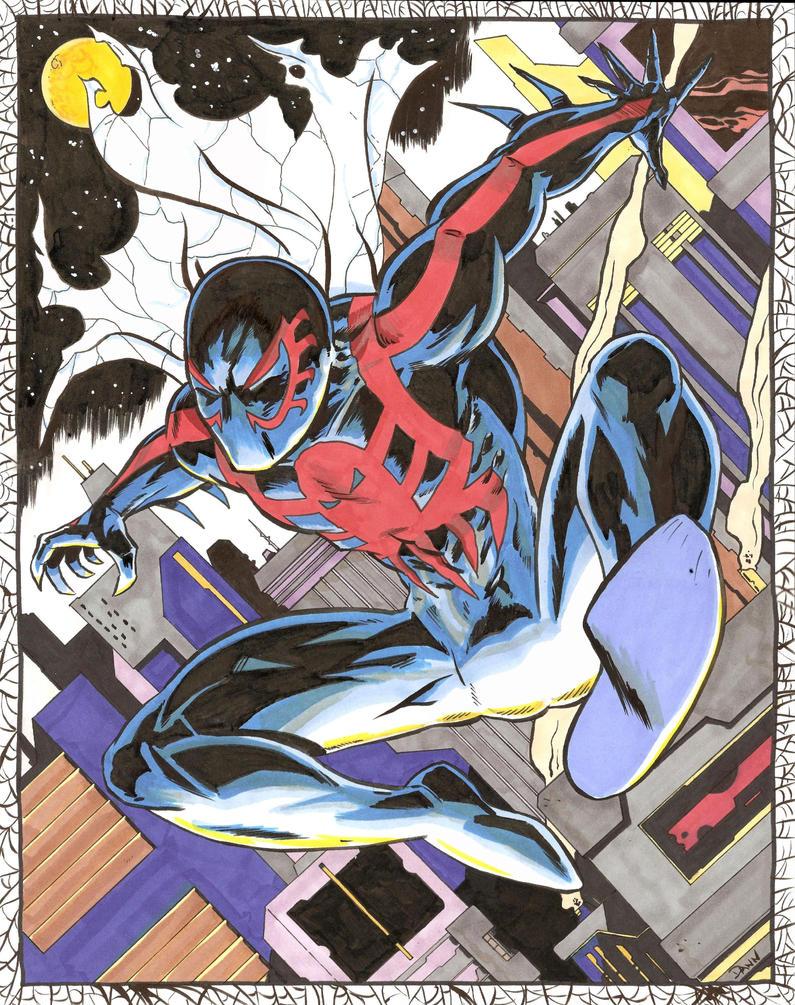 Spider-Man 2099 by dannphillips
