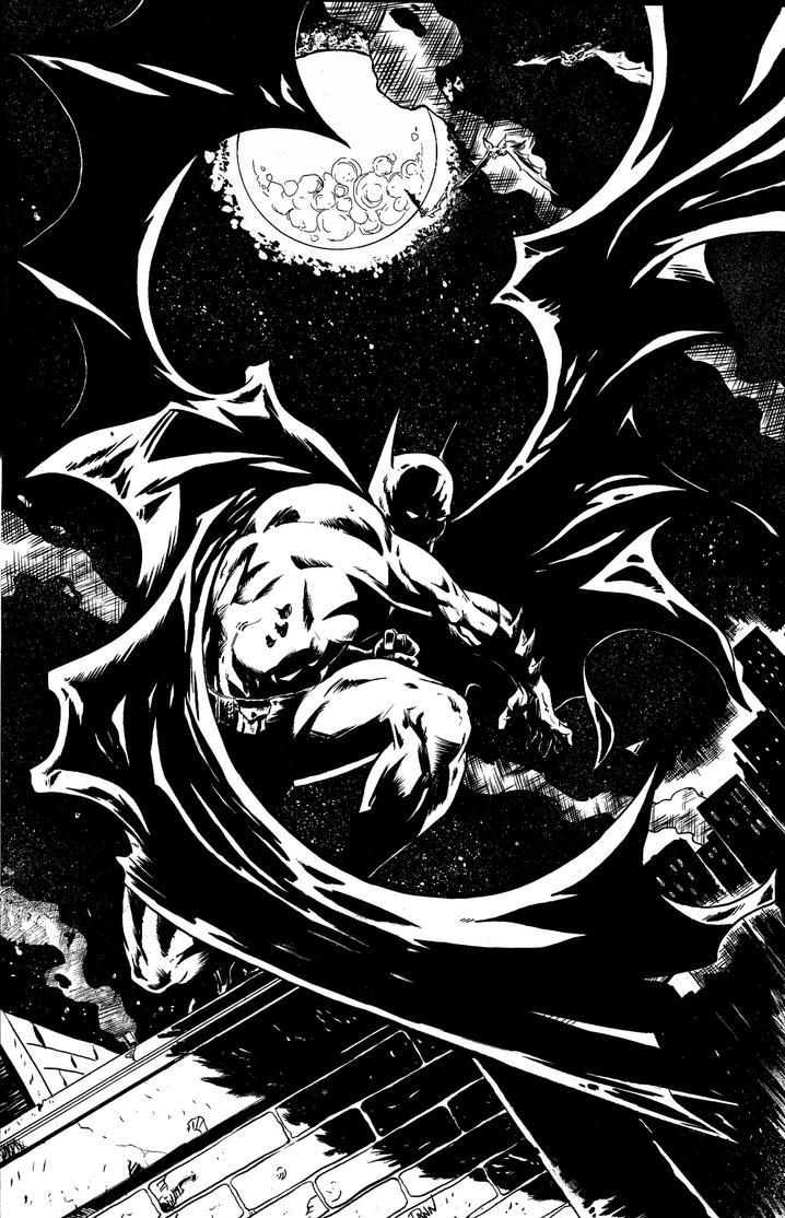 The Dark Knight by dannphillips