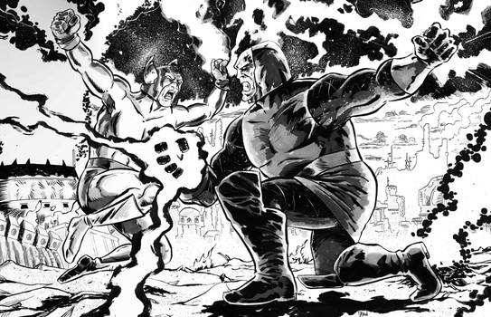 One of my favorite requests..Darkseid vs Orion!