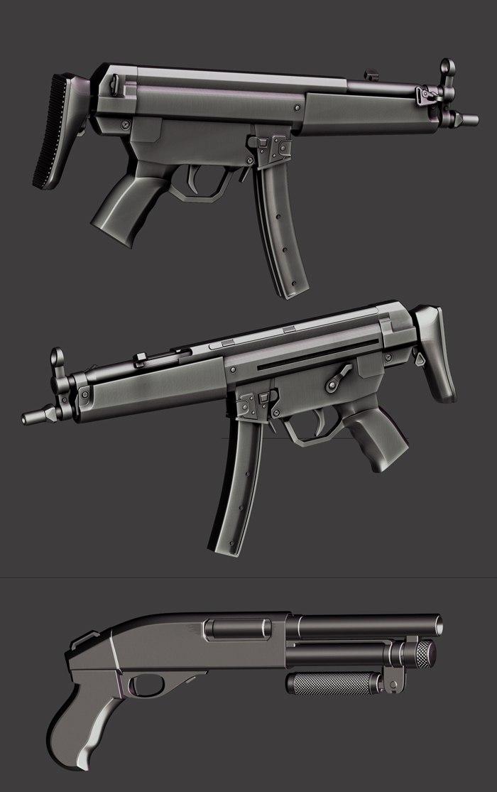 draft guns by pyzzmon