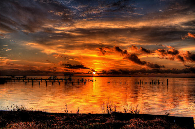 Another Sunrise on The Gulf Coast by efcooper