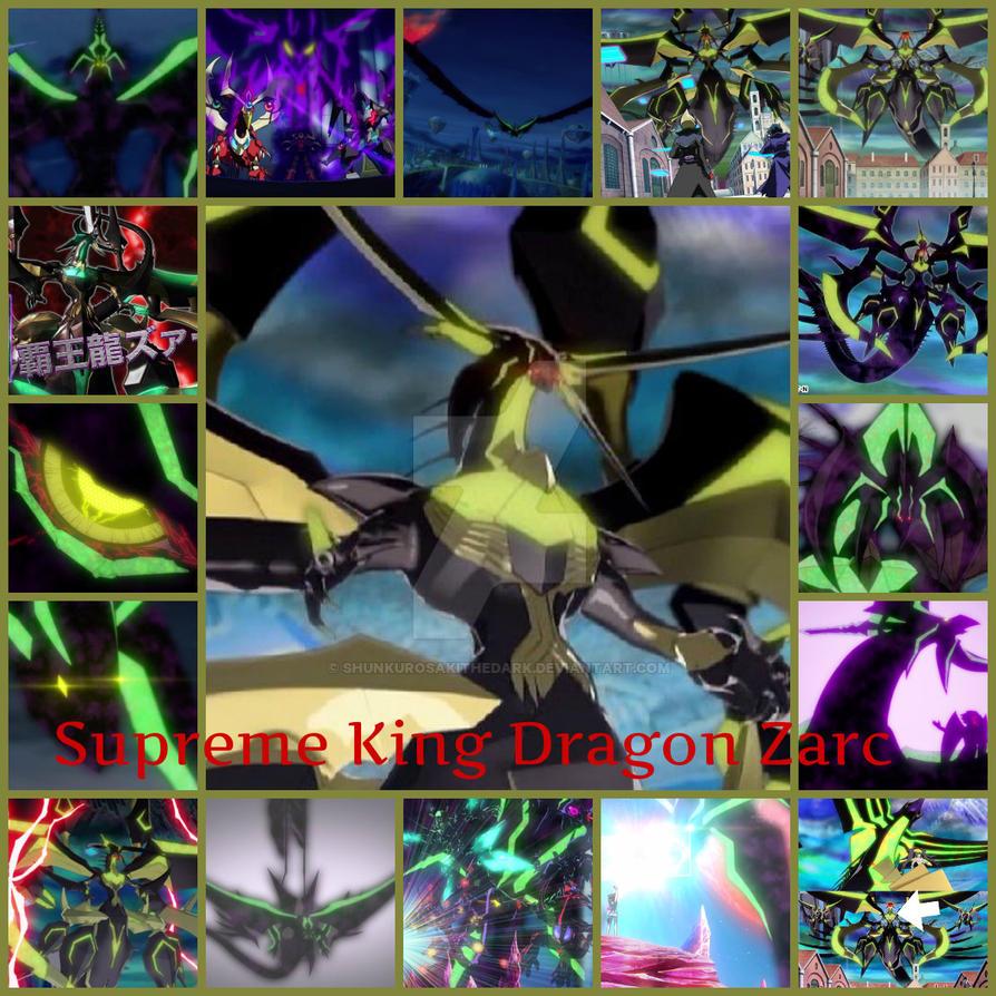 Supreme King Dragon Zarc By Shunkurosakithedark On Deviantart