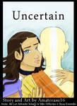 Uncertain cover by artbyamandalauren