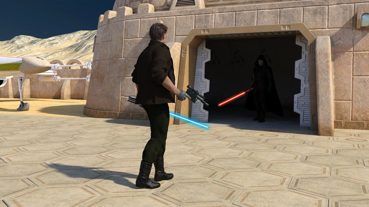 Jedi Vs Sith In Mos Eisley #1 by Dovahkiin1994