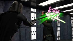The Dark Troopers Vs Luke Skywalker #5