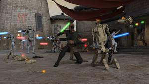 Jedis and Clones vs The CIS #1