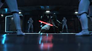 Starkiller Vs Stormtroopers