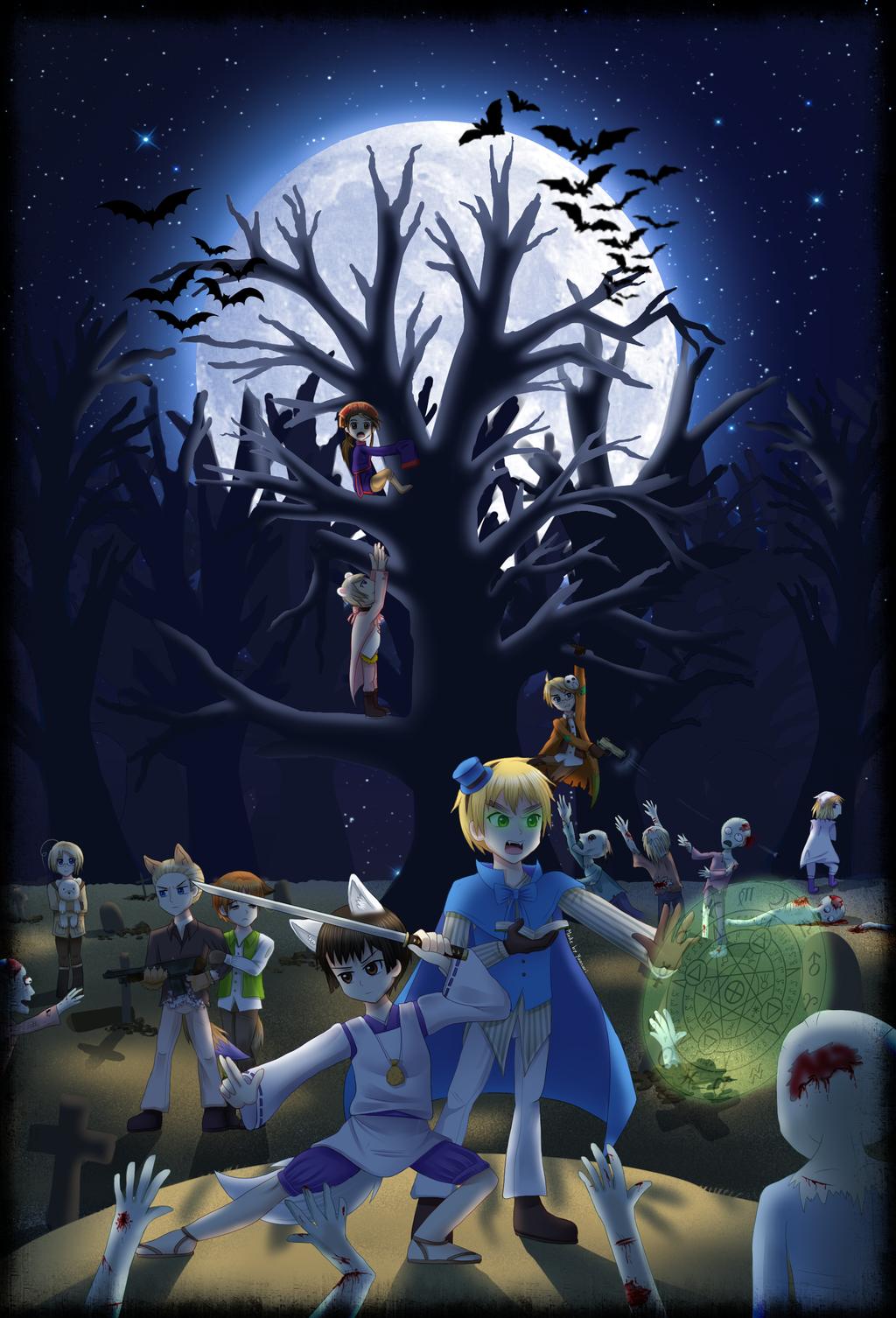 .:Halloween 2013:. Zombie Outbreak! by Yuunarii