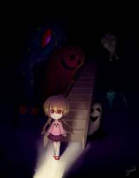 Someone's Watching - Yume Nikki Fanart by Yuunarii