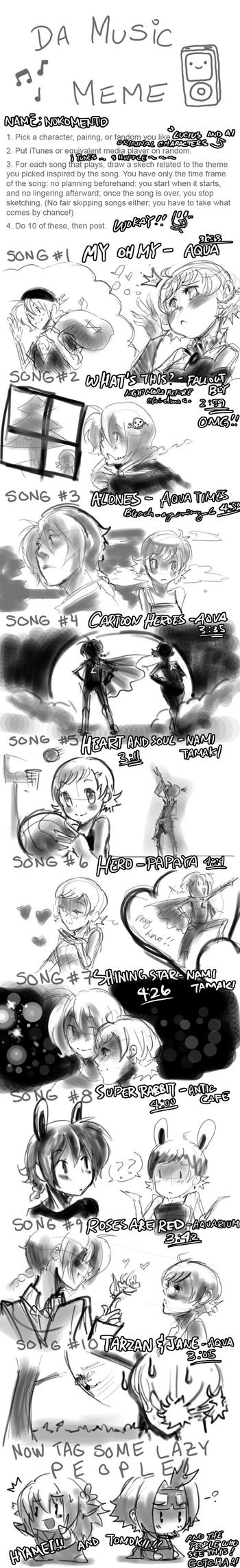 Music Meme XDDDD by Nokomento