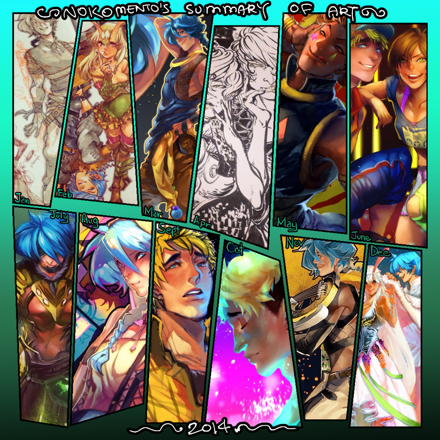 Nokomento: Summary of Art 2014 by Nokomento