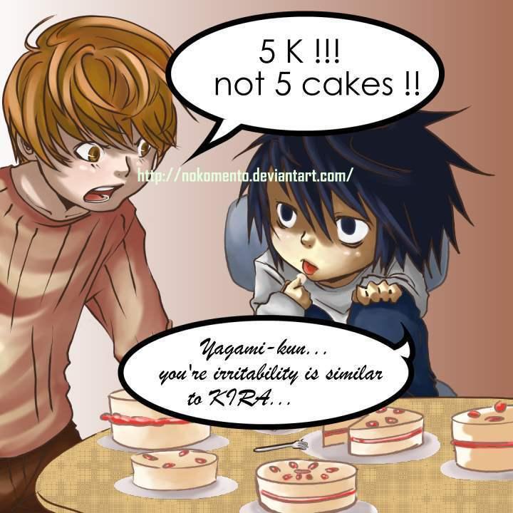 thanks for 5 cakes by Nokomento