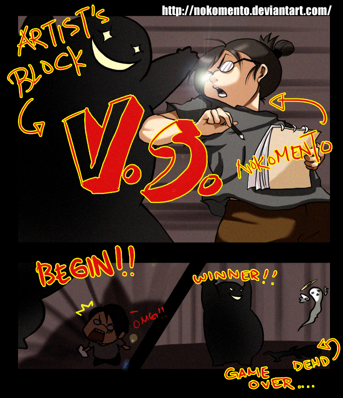 Noko VS Artist's Block by Nokomento