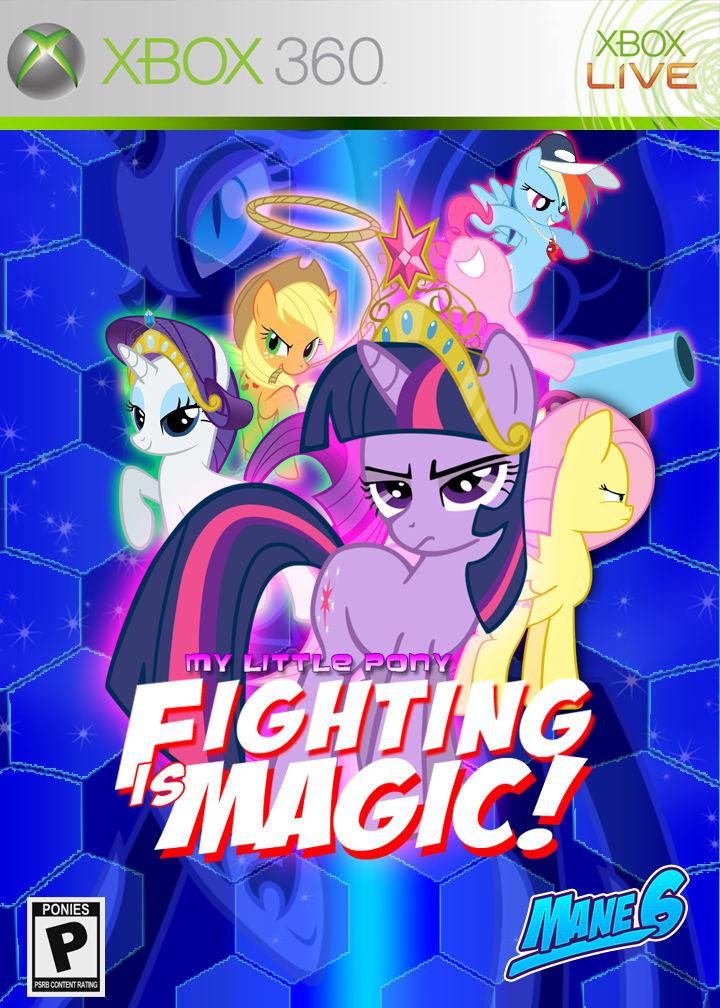 Fighting Is Magic Fan Box Art By Rorycon On Deviantart