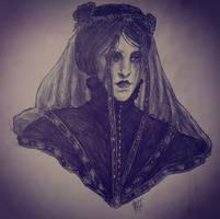 Iris Von Everec Portrait Study