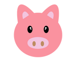 my first vector is a little pig