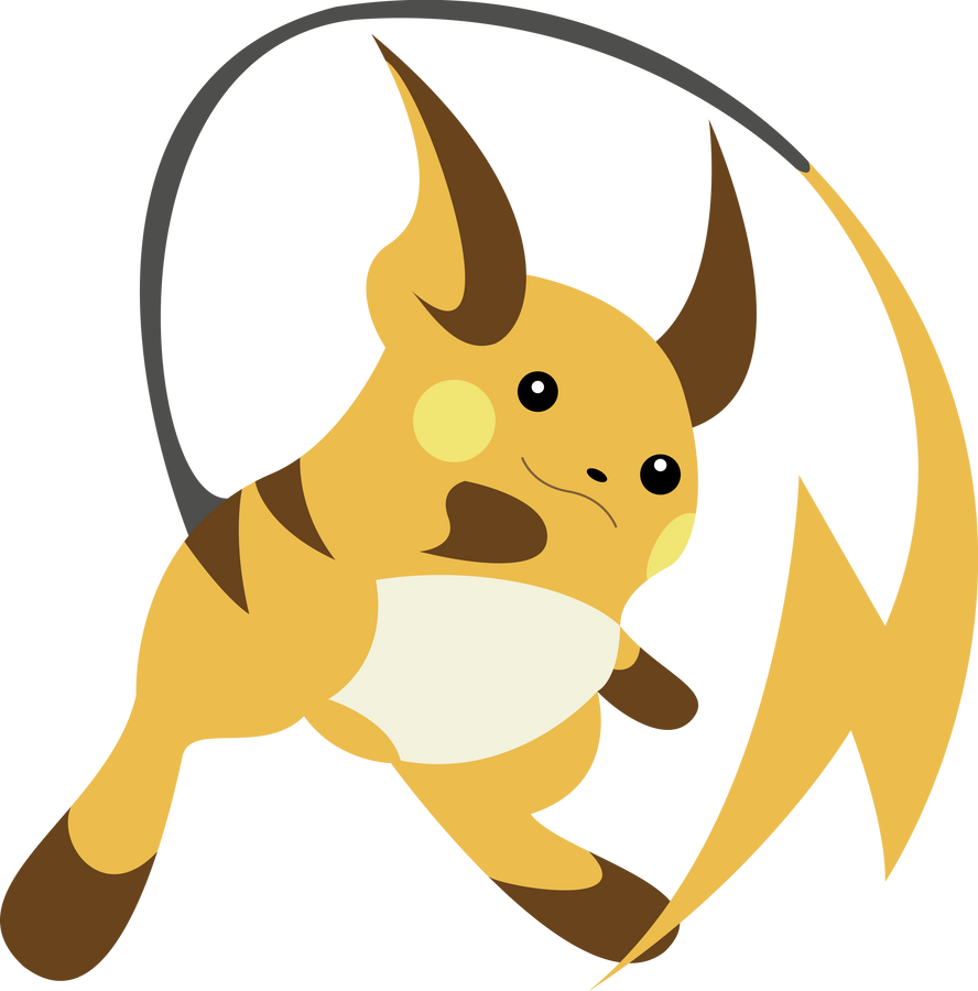 Raichu Vector by ChelaGirl