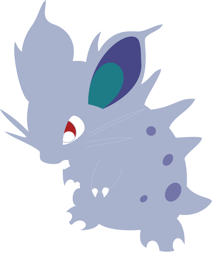 Nidoran Vector by ChelaGirl