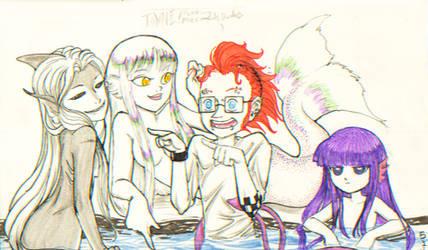 Hanna and the Mermaids
