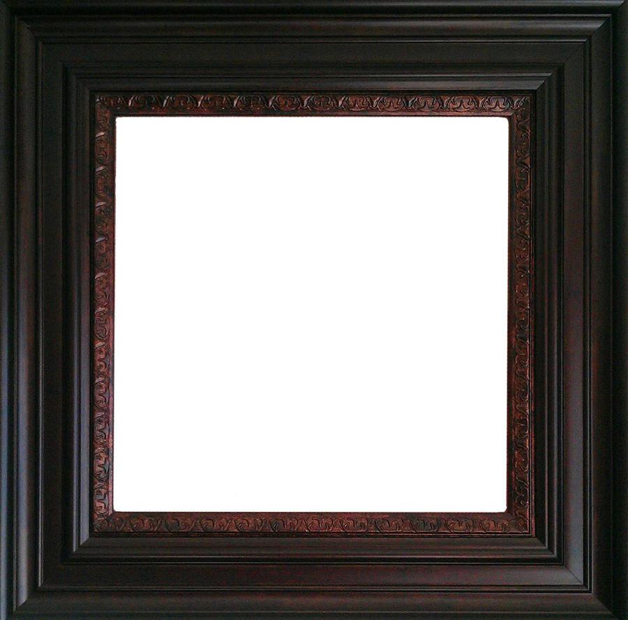 Wonderful Dark Wood Picture Frame &EU97 | Wendycorsistaubcommunity