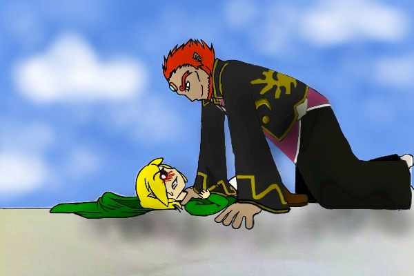 Contest entry: Link vs Ganondorf by NoxidamXV