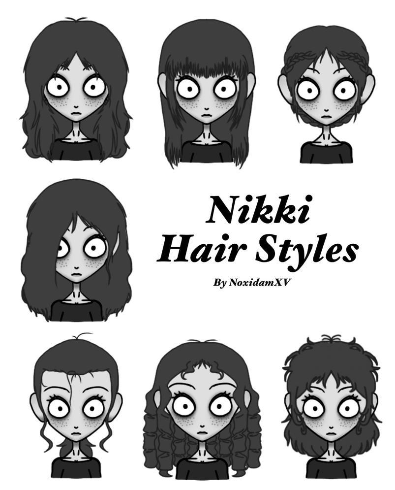 Nikki's hair styles by NoxidamXV