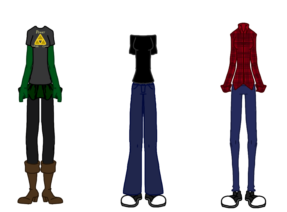 Nikki's Clothes #1 by NoxidamXV