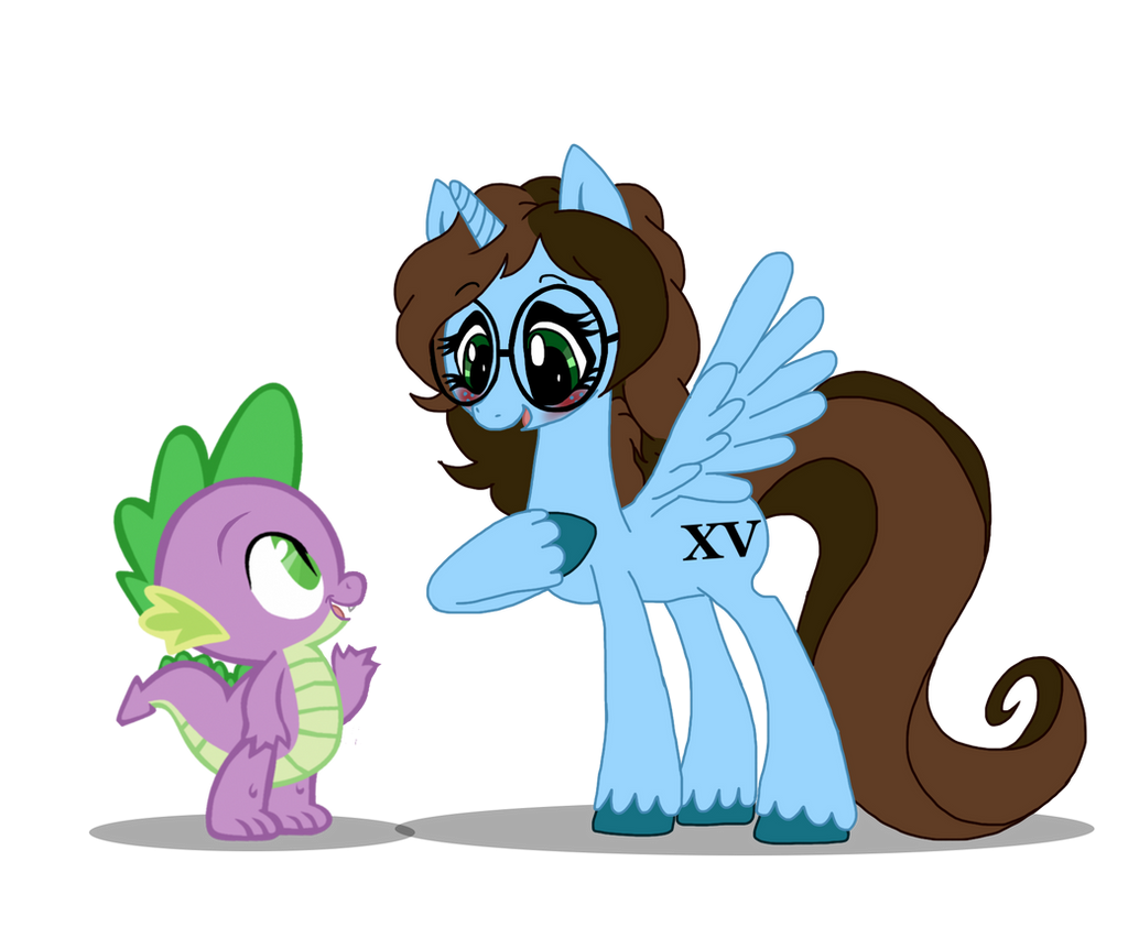 Noxxy-Chan Meets Spike by NoxidamXV