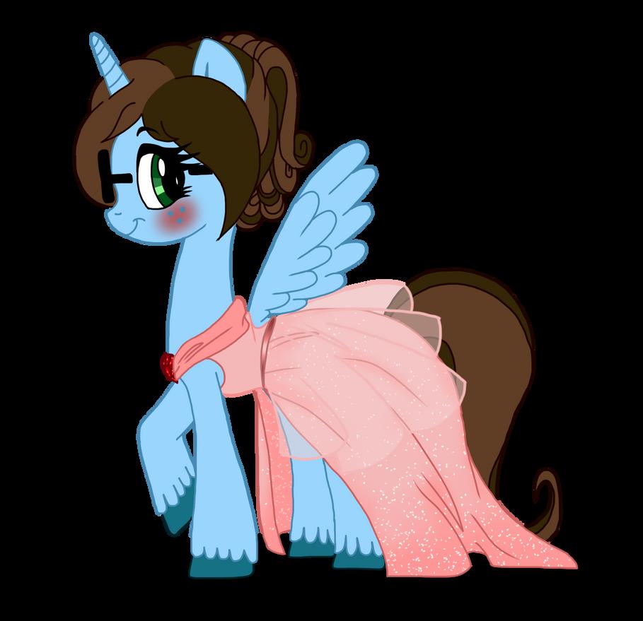 Noxxy-Chan in her Gala dress by NoxidamXV