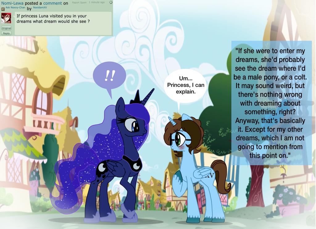 Question 7- The Princess of Dreams by NoxidamXV