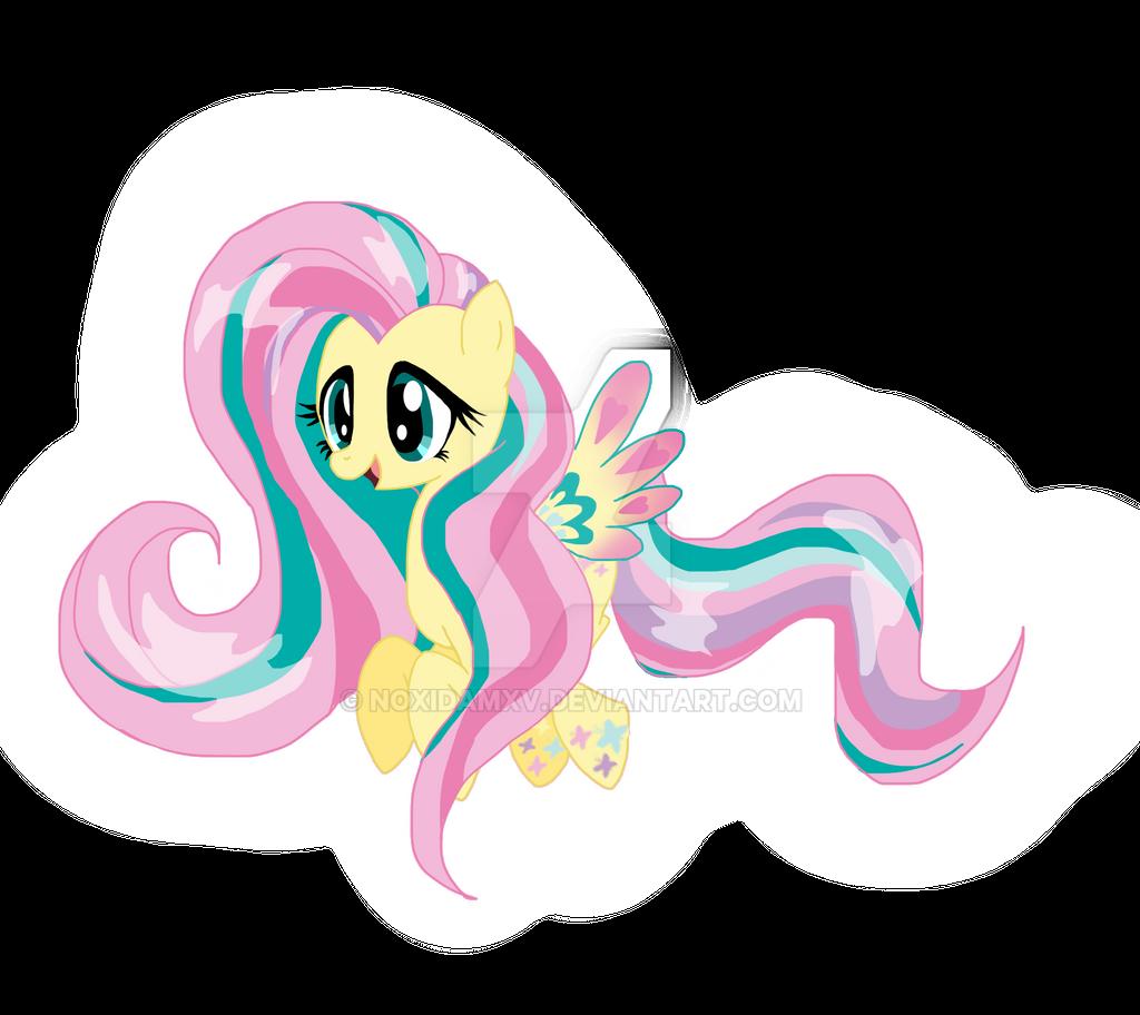Rainbow-Power Fluttershy by NoxidamXV on DeviantArt
