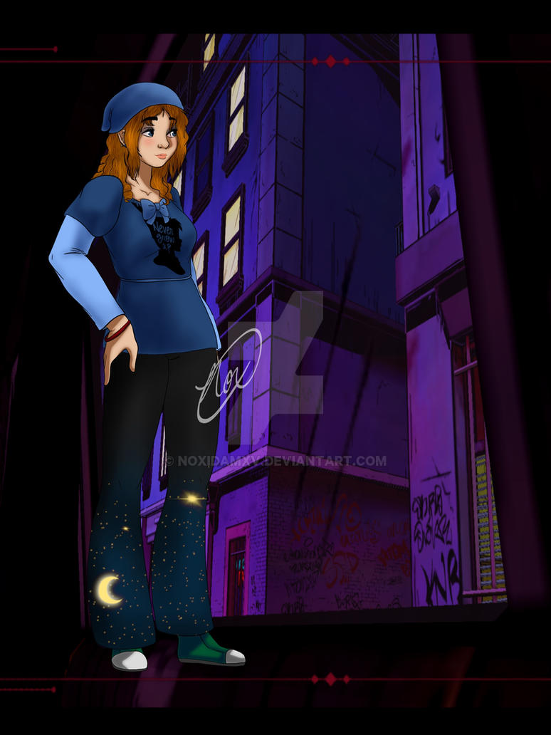 The Wolf Among Us OC- Wendy Darling by NoxidamXV