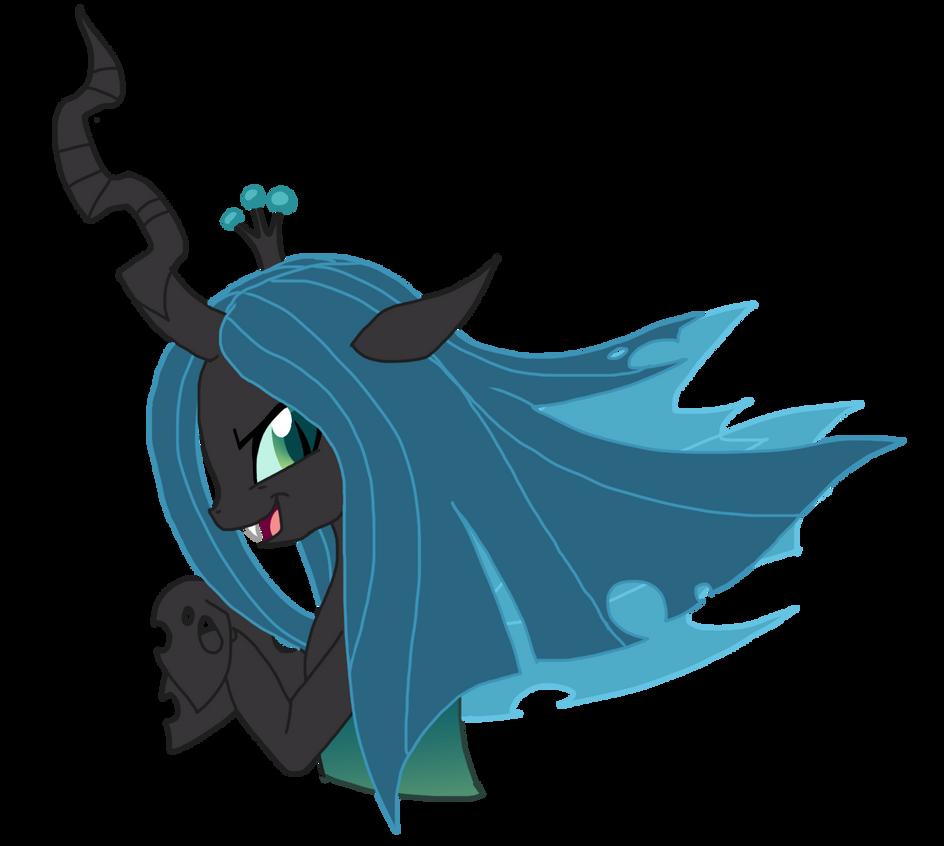 Queen Chrysalis [vector] by NoxidamXV