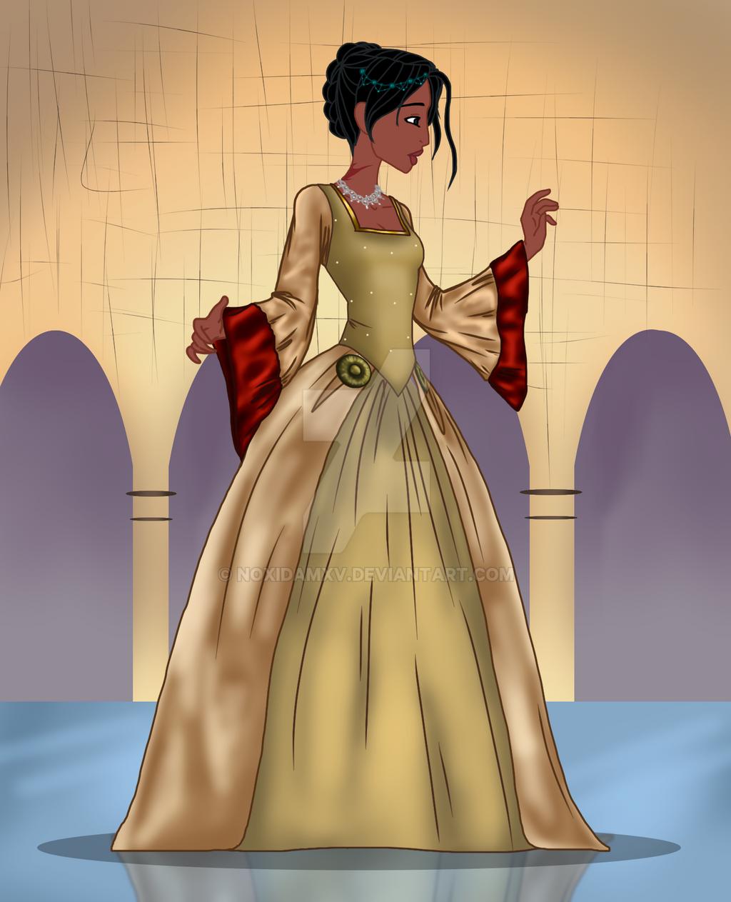 Lavanya in London ball dress by NoxidamXV
