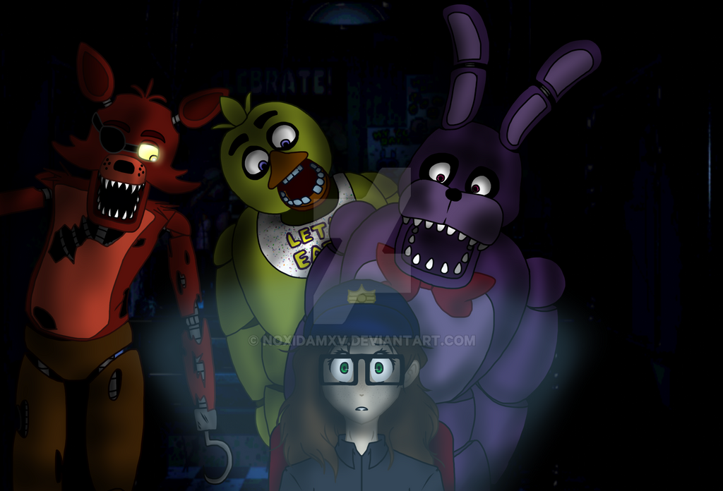 Me playing Five Nights At Freddy's by NoxidamXV