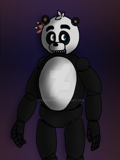 FNAF OC: Sophie the Panda by NoxidamXV