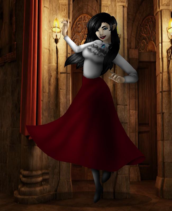 Hotel Transylvania OC: Eloise Dracula by NoxidamXV