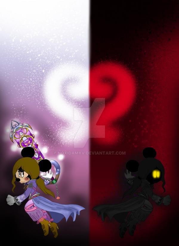 Kingdom Hearts Anne-Marie Wallpaper by NoxidamXV