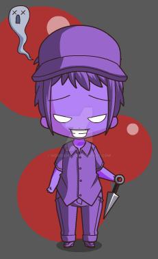 Chibi Purple Man by NoxidamXV