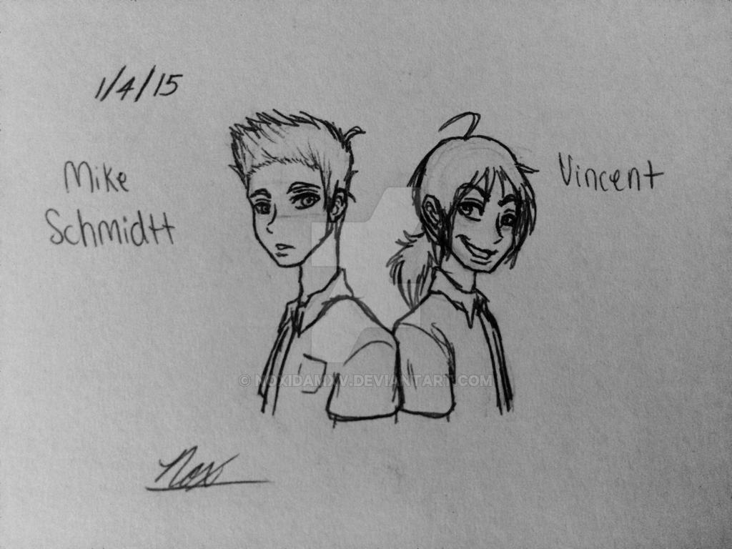 Mike Schmidt and Seth/Vincent by NoxidamXV