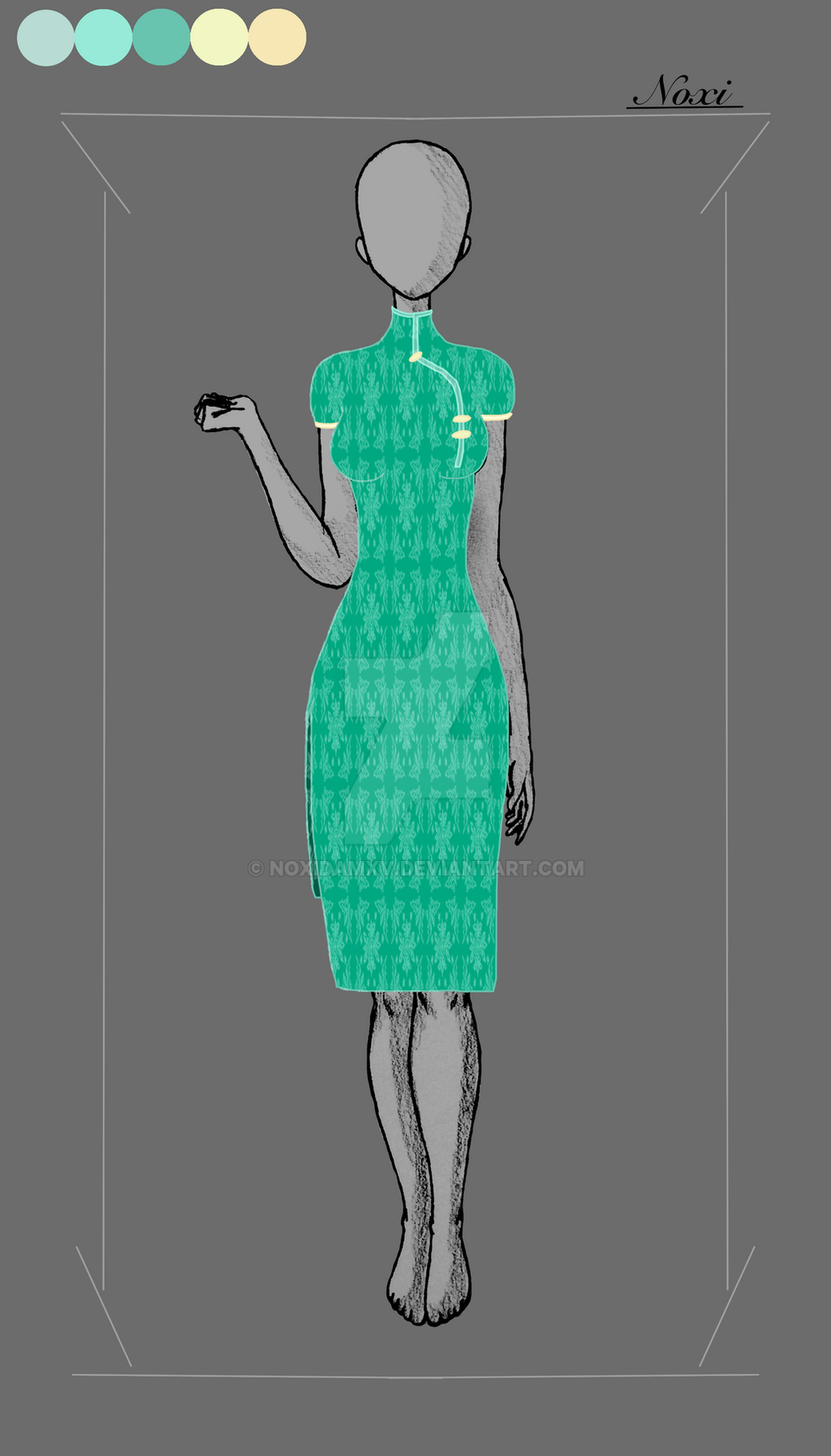 Nomi's Dress by NoxidamXV